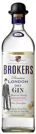 Brokers Gin London Dry